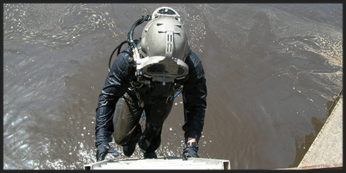 Contaminated Diving